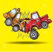 car-crash-trucks-taxi-road-vector-64349546